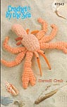 Annie's Attic Crochet By the Sea: Hermit Crab
