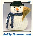 Annie's Attic Jolly Snowman