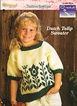 The Needlecraft Shop Crochet Collector's Series: Dutch Tulip Sweater