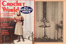 Crochet World No. 1 Special Issue, 1981.