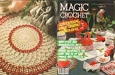 Magic Crochet No. 50, October 1987.