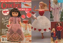 Crochet World February 1990.