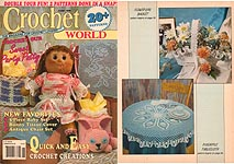 Crochet World June 1990.