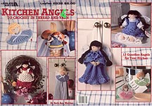 Leisure Arts Kitchen Angels to Crochet