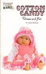 Gourmet Crochet Baby Cotton Candy Dress and Hat
