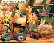 Annie's Attic Plant Pot Holders
