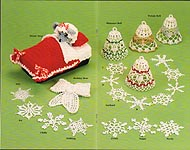 Herrschners Christmas Finery Crochet