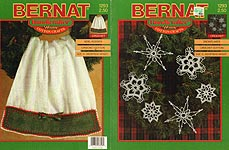 Bernat Handicrafter Home Cotton Crafts Snowflakes
