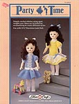 Party Time outfits for 11-1/2 inch porcelain look dolls