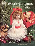 Merrie Christmas dress for 14 inch Katie doll
