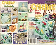 Hooked on Crochet! #86, April 2001