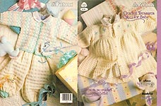 Patons Crochet Treasures For Baby