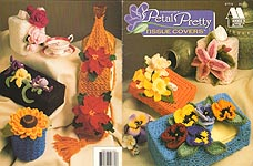 Annie's Attic Crochet Petal Pretty Tissue Covers