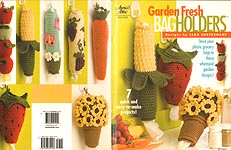Annies Attic Garden Fresh Bag Holders