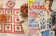 McCall's Crochet Patterns, June 1994