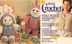 McCall's Crochet Patterns, Apr. 1995