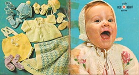 Coats & Clark #130: Knit and Crochet for Babies
