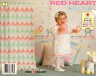 Red Heart Book No. 344: Baby Crochet