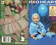 Red Heart Book No. 347: Tiny Tot Layettes