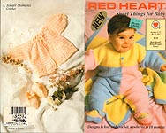 Red Heart Book No. 386: Sweet Things for Baby