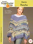 Annie's Scrap Crochet Club: Denim Poncho