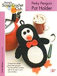 Annie's Scrap Crochet Club: Perky Penguin Pot Holder
