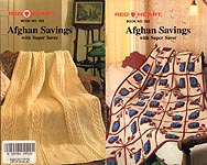 Red Heart Book 333: Afghan Savings with Super Saver
