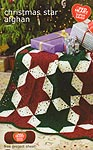 Coats & Clark Christmas Star Afghan
