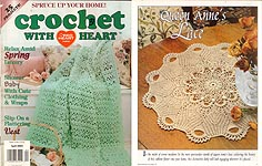 Crochet With Heart, April 2001