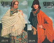 Coats & Clark Book No. 273: Shawls