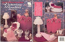 Fashion Doll Home Decor Crochet Collectors Guild: Victorian Boudoir