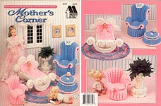 Fashion Doll Home Decor Crochet Collectors Guild: Mothers Corner