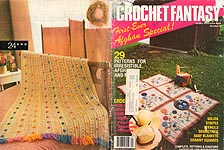 Crochet Fantasy First- Ever Afghan Special!, No. 24, December 1985.