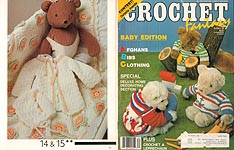 Crochet Fantasy Baby Edition, No. 34, March 1987