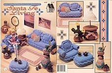 Fashion Doll Home Decor Crochet Collectors Guild: Sante Fe Living