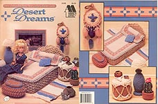 Fashion Doll Home Decor Crochet Collectors Guild: Desert Dreams