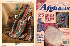 Crochet Fantasy Afghans, No. 56, January 1990