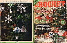 Crochet Fantasy For Christmas, No. 61. November 1990