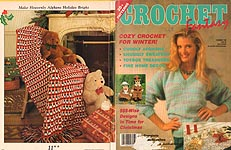 Crochet Fantasy For Christmas, No. 62, December 1990