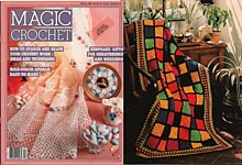 Magic Crochet No. 34, February 1985
