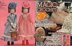 Magic Crochet No. 35, April 1985