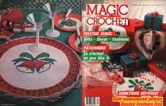 Magic Crochet No. 51, December 1987.