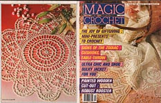 Magic Crochet No. 57, December 1988.