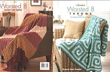 Herrschners Worsted 8 Throws, Volume 2