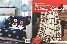 Herrschners Award Winning Holiday Afghans, 2014