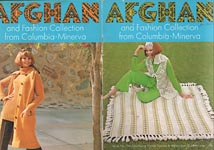 Afghan and Fashion Collection from Columbia- Minerva