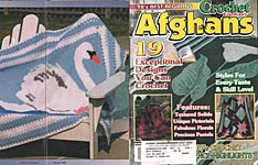 Crochet Fantasy Afghans, No. 121, February 1998