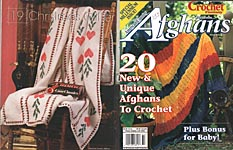 Crochet Fantasy Presents American Country Afghans, No. 135, Winter 1999 (Cover marked Winter 2000)