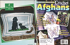 Crochet Fantasy Afghans, No. 138, February 2000