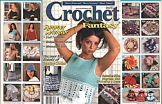 Crochet Fantasy Afghans, No. 151, August 2001